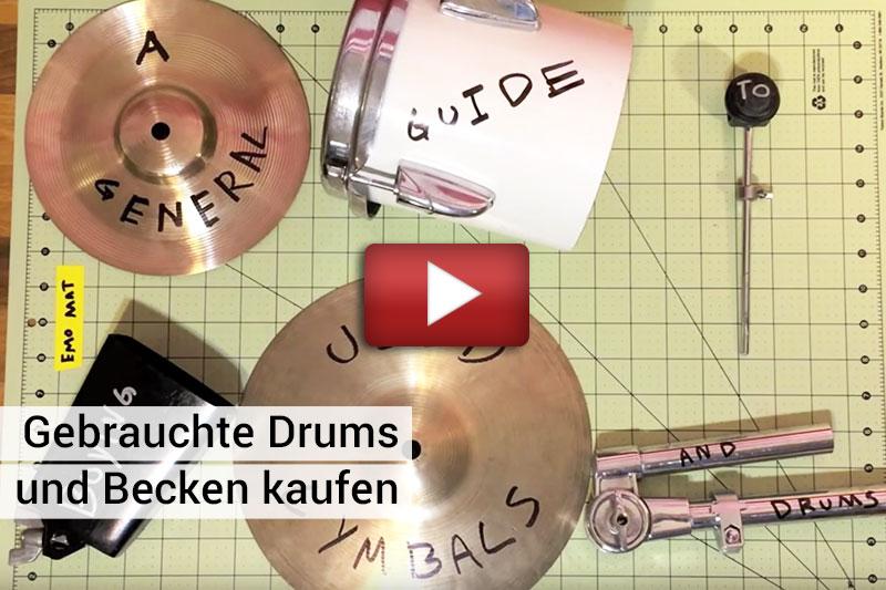 Schlagzeug-und-Becken-Ratgeber