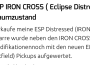 ESP Iron Cross Eclipse Distressed Gitarre gebraucht
